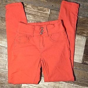 Other - Kalowa Pink Skinny Jeans
